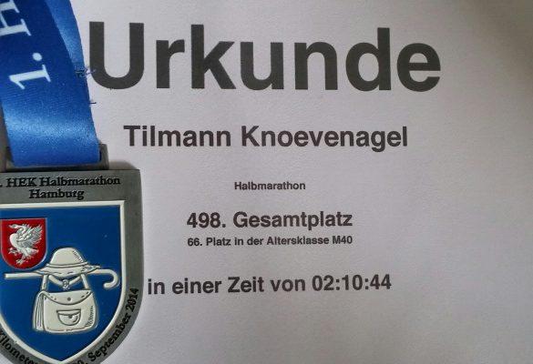 1. HEK Halbmarathon Hamburg Wandsbek